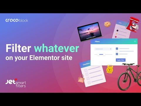 JetSmartFilters for Elementor | Plugin Overview