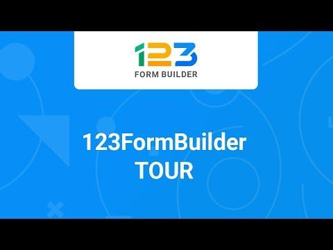 123FormBuilder - Tour (Old version)