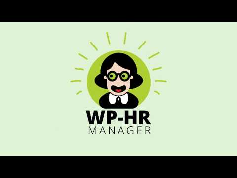 WP-HR Manager - An Introduction