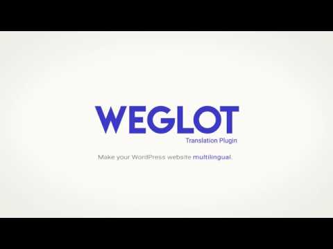 Weglot Translate WordPress plugin - Make your website multilingual