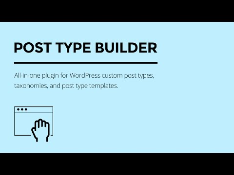 Quick Overview: Themify Post Type Builder