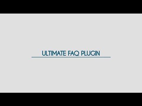 Ultimate FAQ Plugin for WordPress