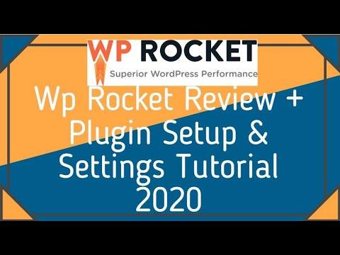 Wp Rocket Review + Plugin Setup And Settings Tutorial 2020