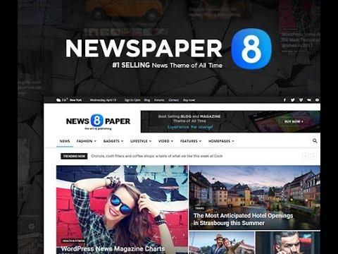 Newspaper 8 - The Best Premium News WordPress Theme by tagDiv
