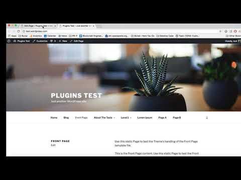 How to Use Page Menu : WordPress Plugin
