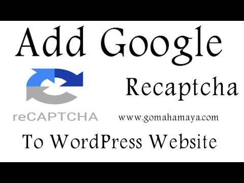 How To Add Google Recaptcha To WordPress Website