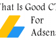 what is good ctr for adsense