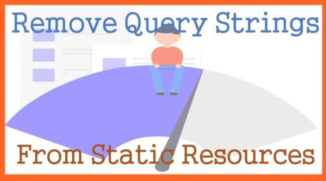 Remove Query Strings From Static Resources In WordPress