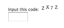 Really Simple CAPTCHA plugin_Screenshot