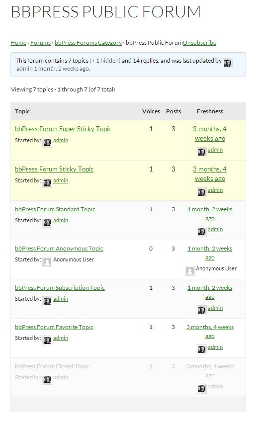 bbpress public forum_screenshot