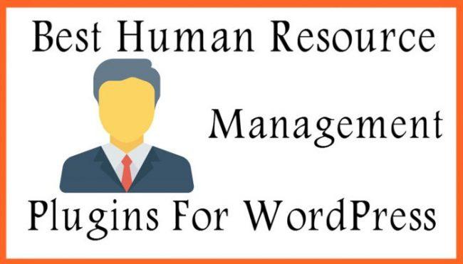 Best WordPress Human resource Management Plugins