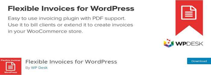 Flexible Invoices for WordPress