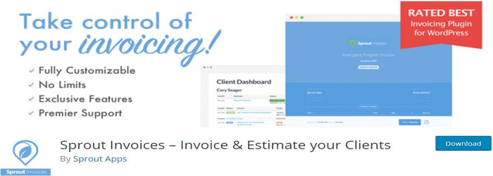 Sprout Invoices – Invoice & Estimate your Clients
