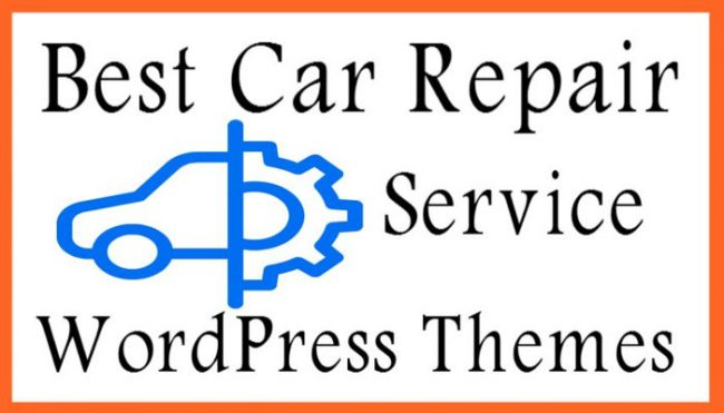 Best Car Repair WordPress Themes