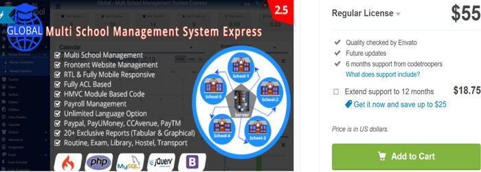 7 Best School Management System PHP Project 2019 - Gomahamaya