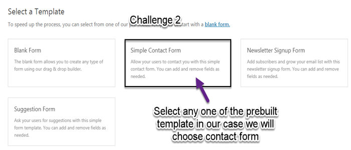 how to create a simple contact form in wordpress gomahamaya