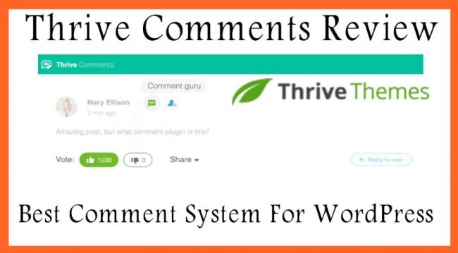 Thrive Comments Review Best Comment System For WordPress