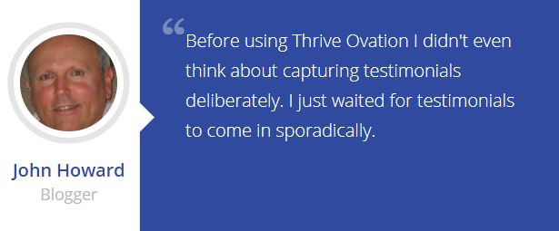 thrive ovation testimonials