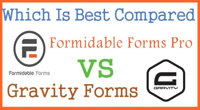 Formidable Forms Pro vs Gravity Forms Which Is Best Compared