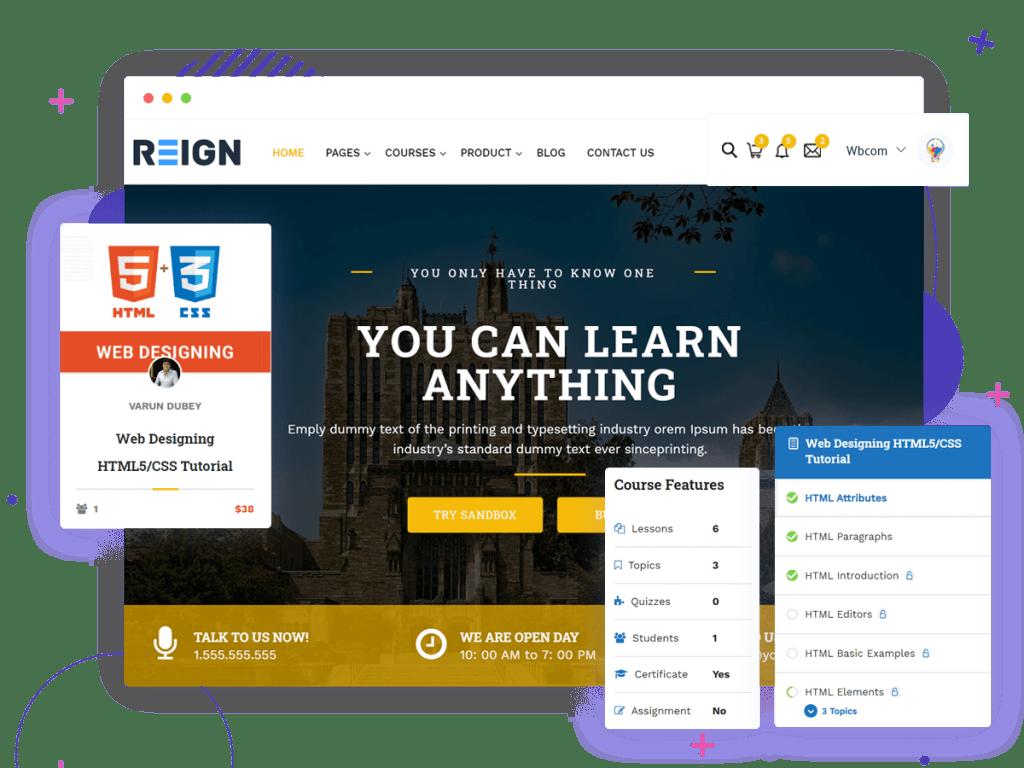 LearnMate learndash theme