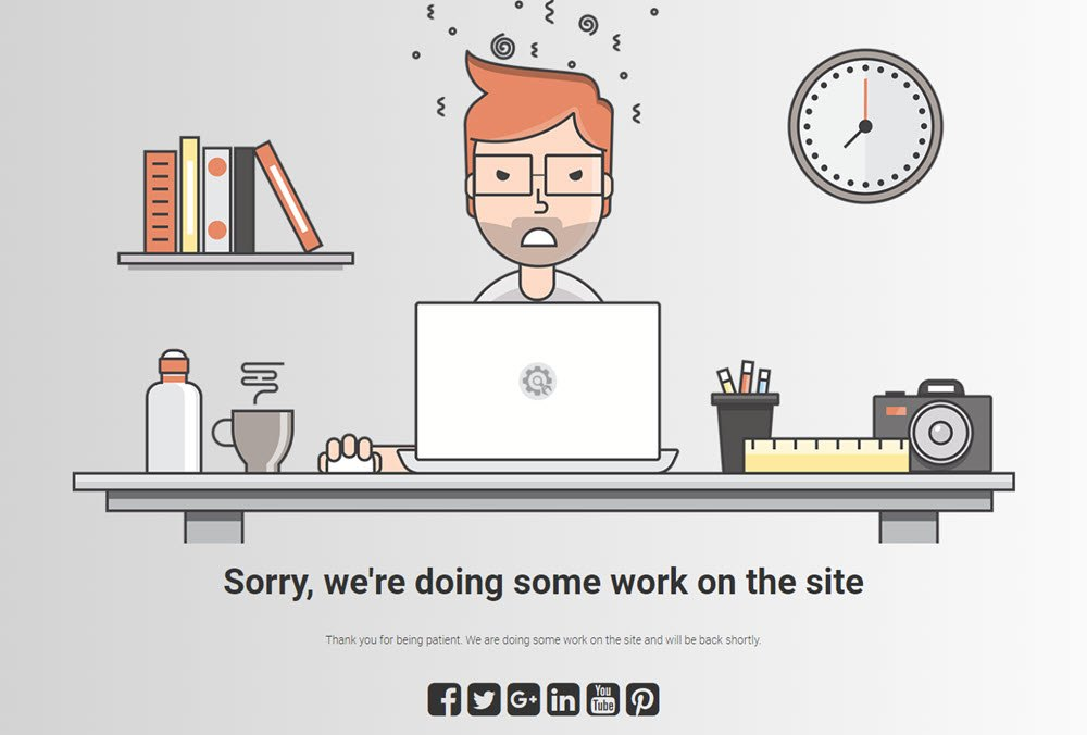 Sorry, we're doing some work on the site under construction page