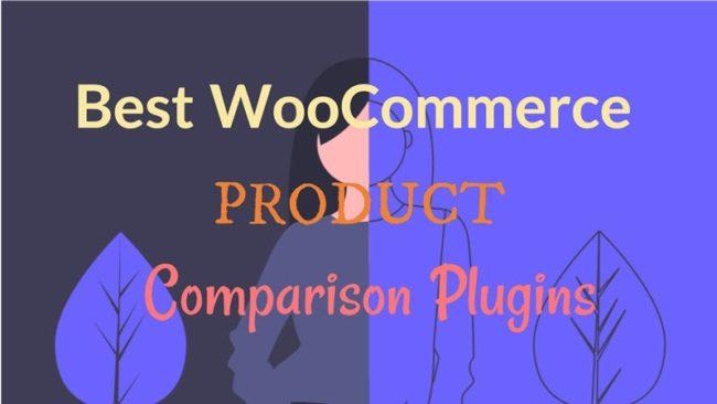 Best WooCommerce ProductComparison Plugins