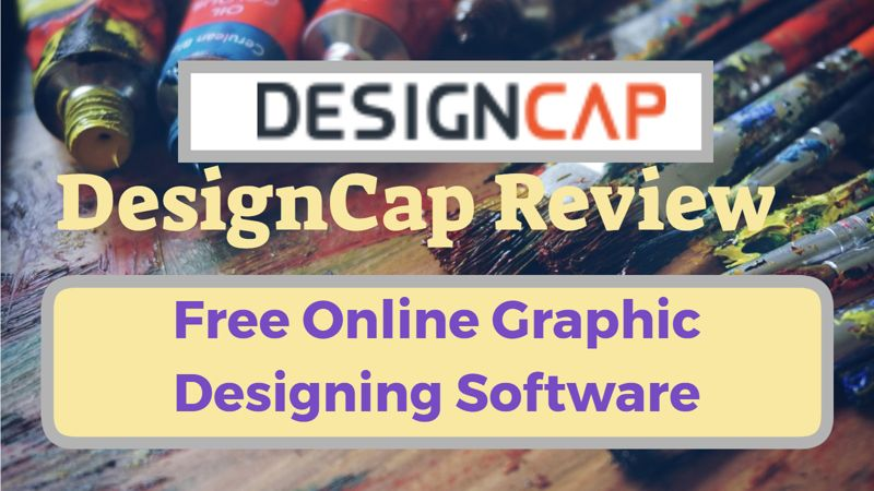 DesignCap Review Free Online Graphic Design Software