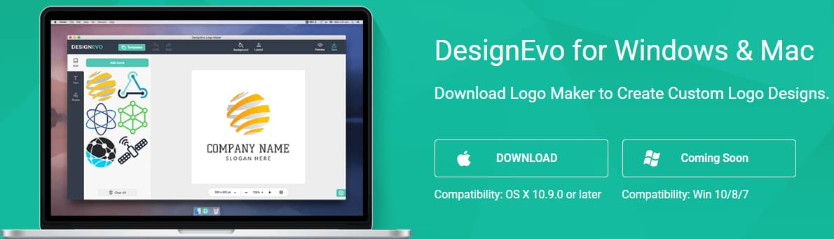 DesignEvo for Windows & Mac