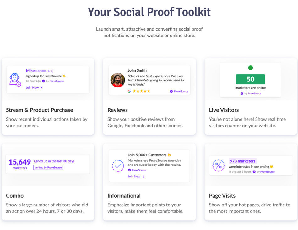 Different Type Of Social Proof You Can Use In Online Shop