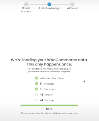 sync woocommerce product customers data and setting into oliver pos