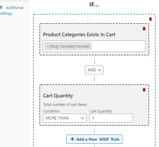 WooCommerce Discount Rules on product categories and cart quanity
