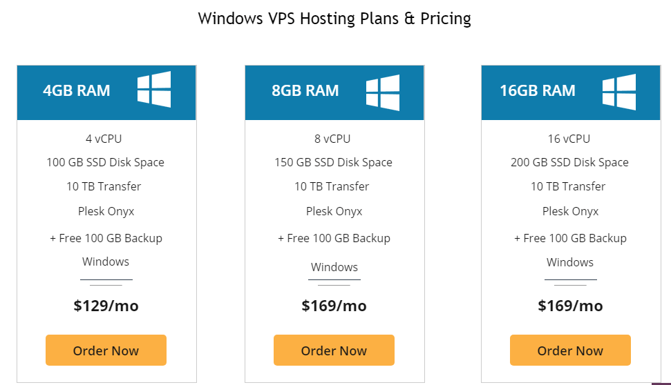 liquid web Windows VPS Hosting Plans & Pricing