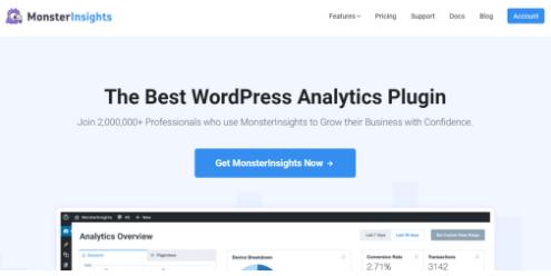 monsterinsight plugin for wordpress