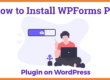 How to Install WPForms Pro plugin on WordPress