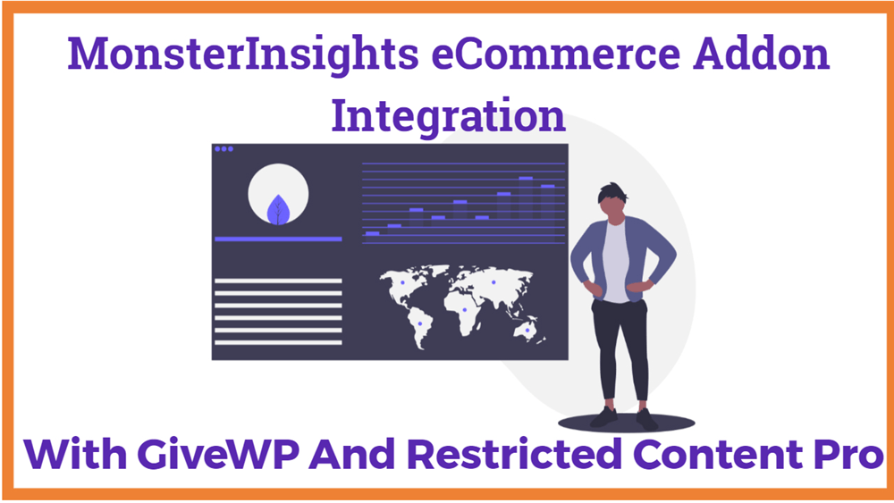 MonsterInsights eCommerce Addon Integration with GiveWP and Restricted Content Pro