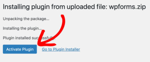 install and activate WPForms plugin
