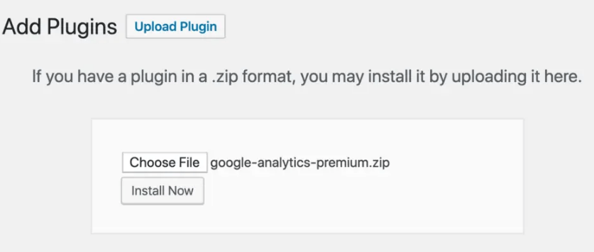 Add plugins upload plugin