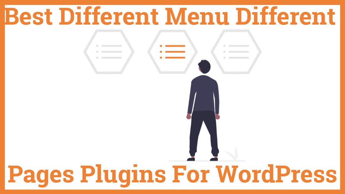 Best Different Menu Different Pages WordPress Plugin