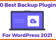 Best backup plugin for wordpress