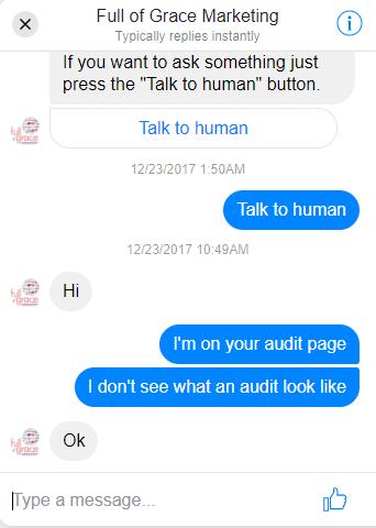Conversation Window On Desktop