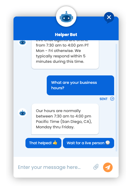 Dramatically Reduce Support Time By Setting Up A Helper Chat Bot
