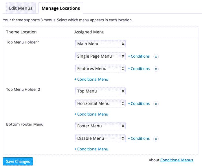 Manage Location Admin Interface Demo