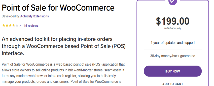 Point of Sale for WooCommerce plugin