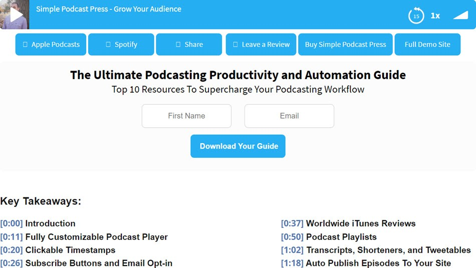 Simple Podcast Press The Ultimate Podcasting Productivity And Automation Guide