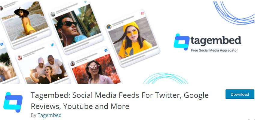Tagembed Social Media Feeds For Twitter, Google Reviews, Youtube and More