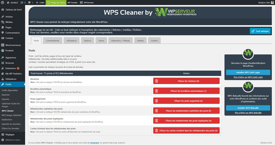 WPS Post Cleaner