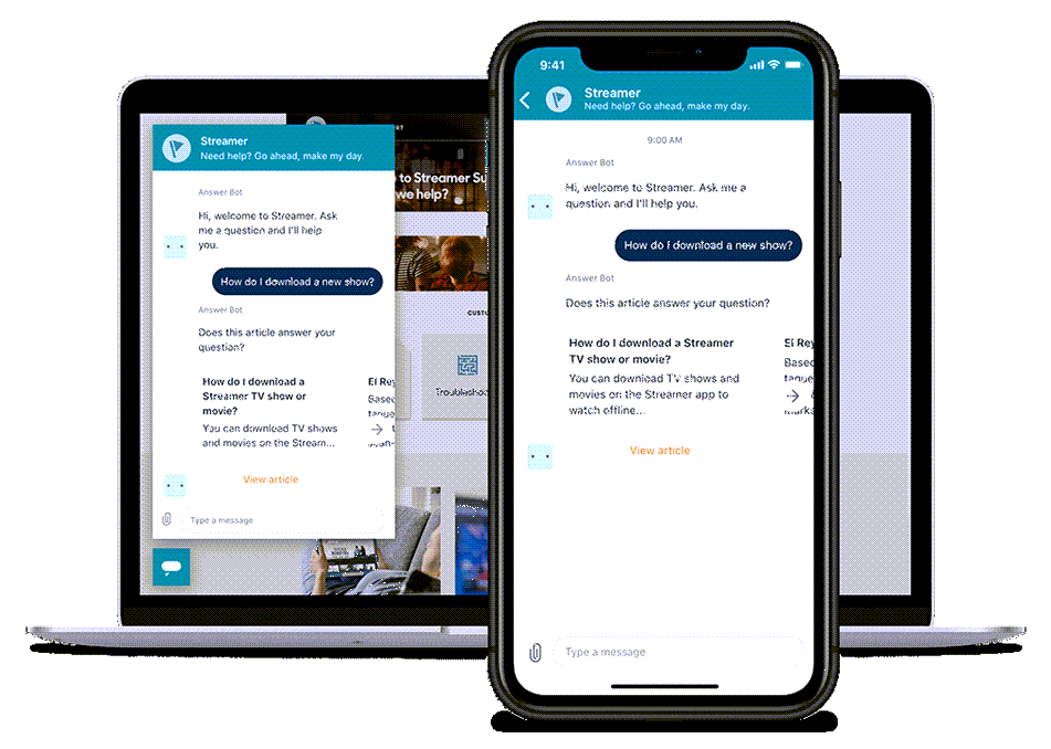 Zendesk Live Chat Multi Device Demo