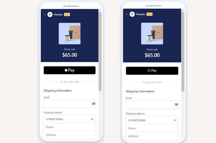 memberpress stripe apple pay and google pay integration