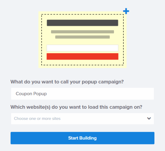 popup coupon name and website