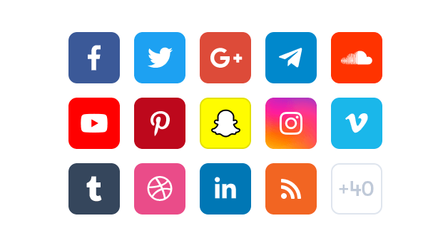 Better social counter wordpress plugin 40 plus social networks supported